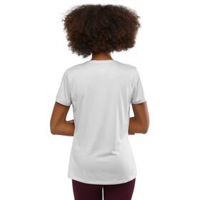 Salomon Agile Camiseta Manga Corta Mujer, blanco